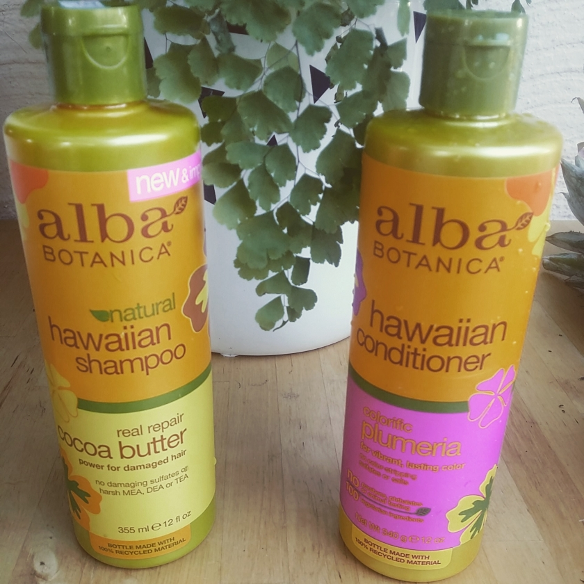 natural shampoo conditioner product review alba botanica